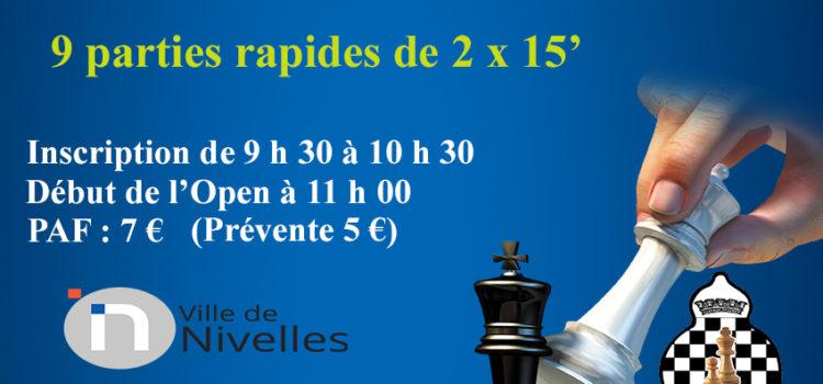 1er Open Express de Nivelles